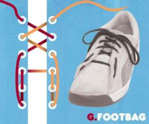 cara mengikat tali sepatu model footbag - salofa - instagram