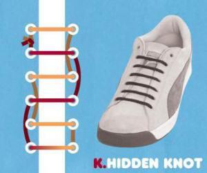 cara mengikat tali sepatu model hidden knot - salofa - instagram
