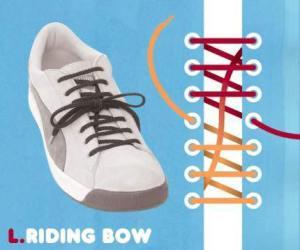 cara mengikat tali sepatu model riding bow - salofa - instagram