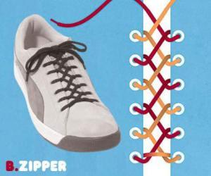 cara mengikat tali sepatu model zipper- salofa - instagram